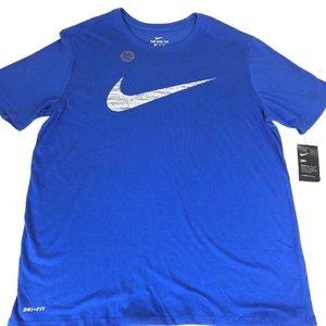 Nike Mens BIG and TALL T-Shirt Blue - NEW